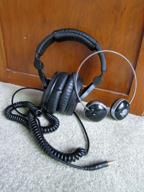photo of headphones for exercise and fitness