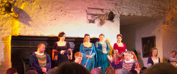 Medieval feast at Bunratty Castle