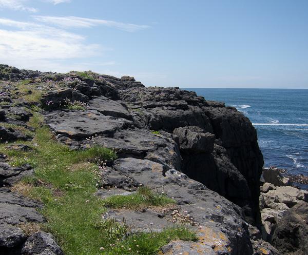 The Burren and the Atlantic Ocean