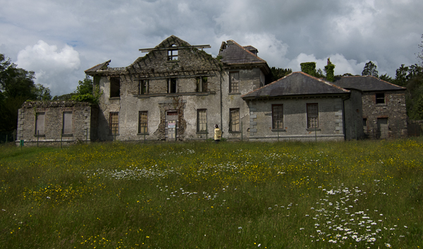 ruins of Kilmacurragh House