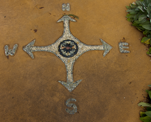 Compass Rose -- Botanical Garden of the Ozarks
