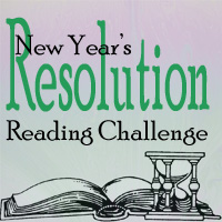 Graphic for New Year's Resolution Reading Challenge