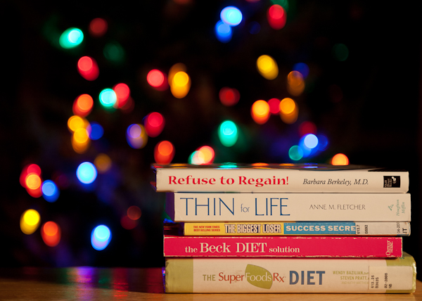 Diet Books and Christmas Lights
