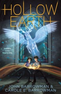 cover of Hollow Earth by John Barrowman and Carole E. Barrowman