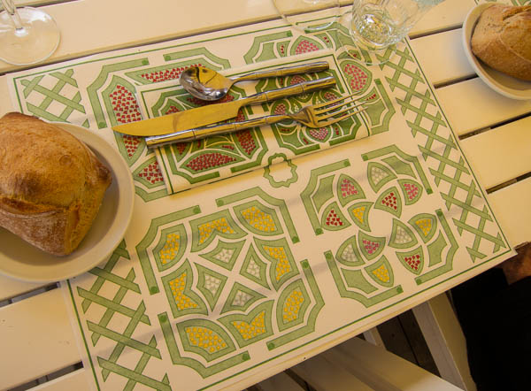 Photo of place mat