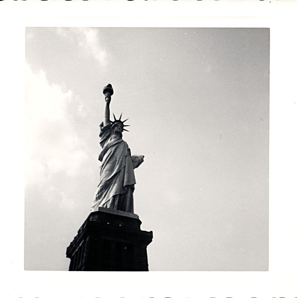 Statue of Liberty photo, taken in about 1960