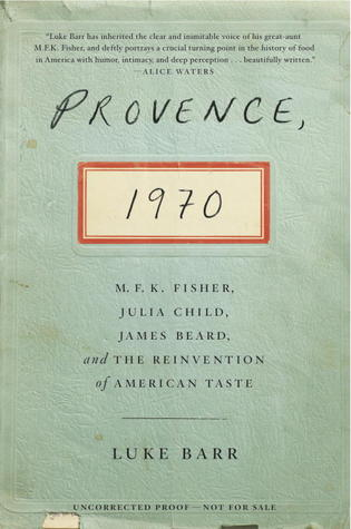 cover of Provence, 1970 by Luke Barr