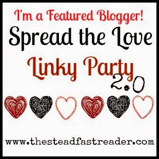 Spread the Love Linky Party, featured blogger