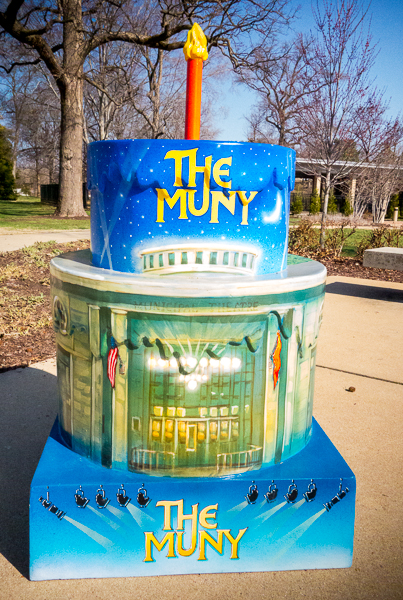 St. Louis 250th Birthday Cake at The Muny