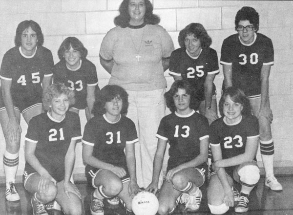 Louisiana High School varsity volleyball  team, 1978