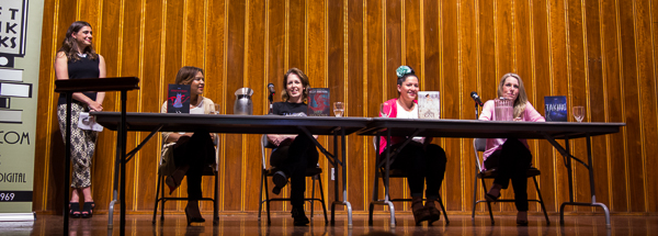 Author panel for the Dark Days Tour