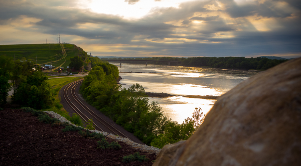Missouri River at Hermann, MO