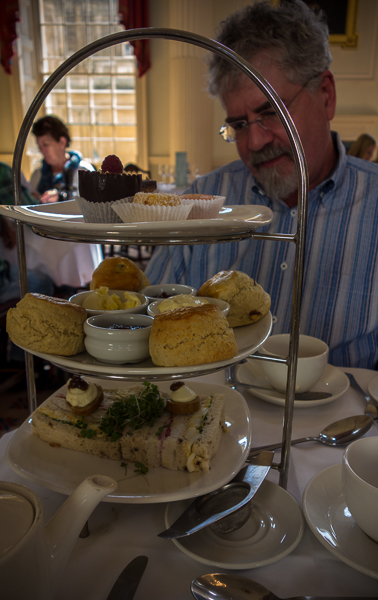 Tea at the Pump Room
