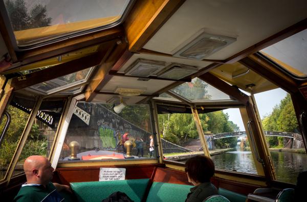 Canal Tour Boat, Birmingham