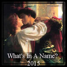 What's in a Name Challenge 2015