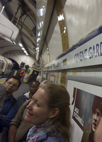 Covent Garden Station, interior, London