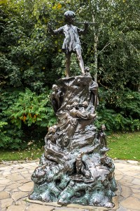 Peter Pan Statue, Kensington Gardens, London