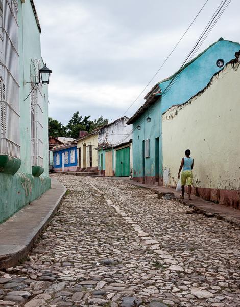 Trinidad, Cuba street