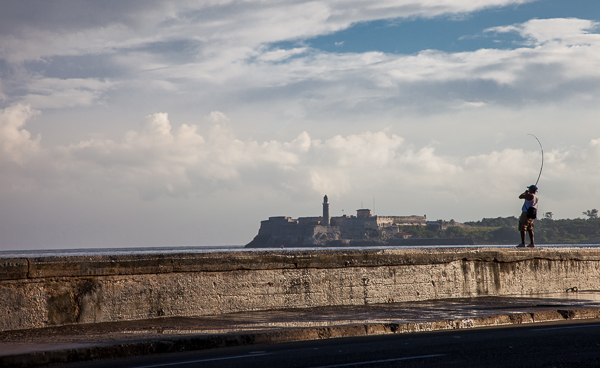 The Malecón sea wall, Havana, Cuba