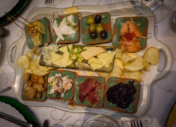 Appetizers, Paladar San Cristobal