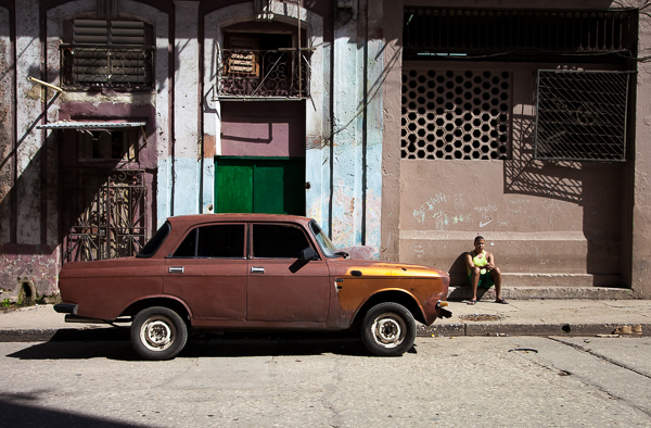 Soviet-era car, Havana, Cuba