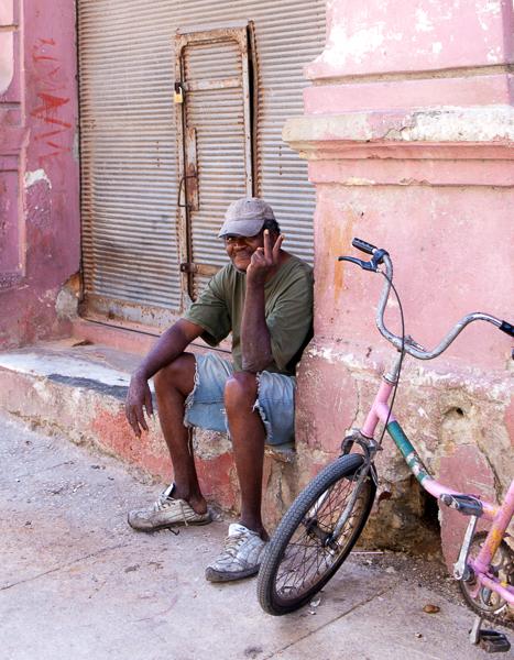Man in Havana, Cuba