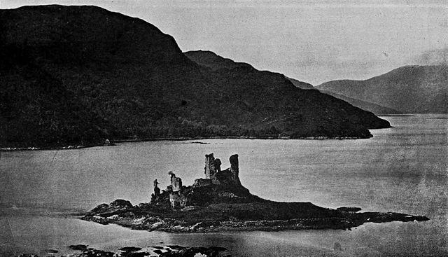 Eilean Donan Castle ruins