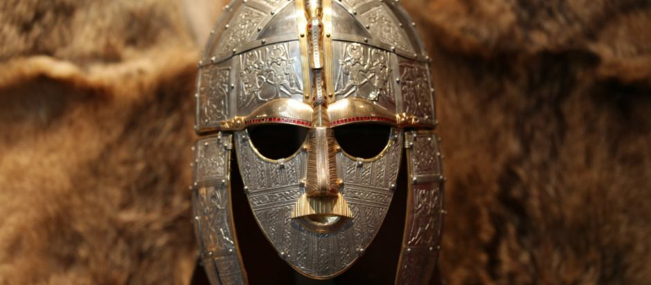 Replica of Sutton Hoo Helmet