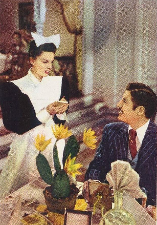 Judy Garland and John Hodiak in The Harvey Girls