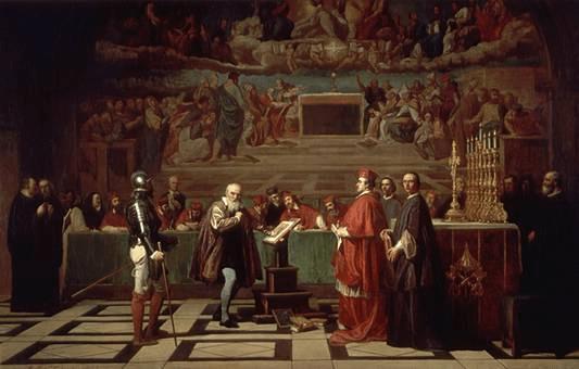 Galilei és Bellarmin Szt. Róbert