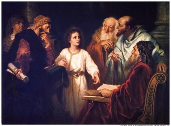 Boy Jesus In The Temple Children's Bible Stories