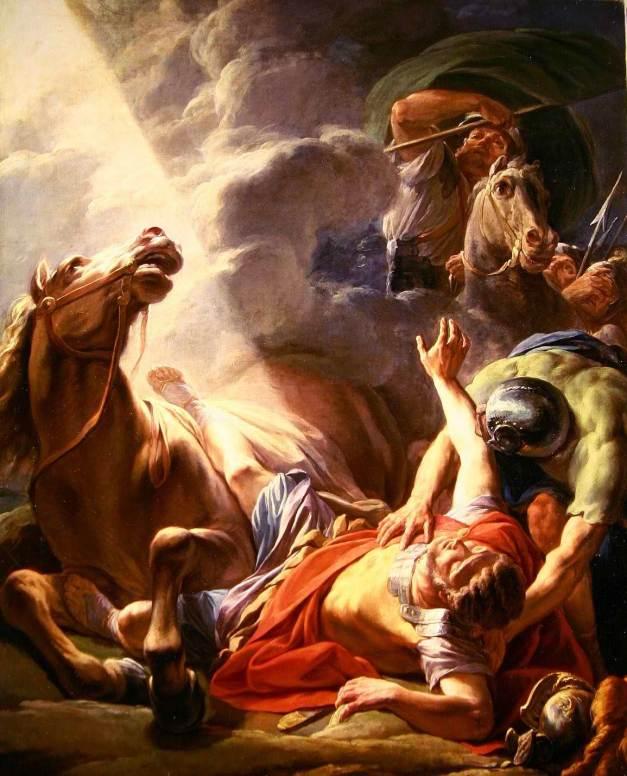 Nicolas-Bernard Lepicie: Saul megtérés