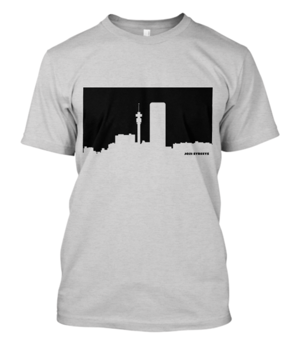 Jozi Streets Light Grey T-shirt