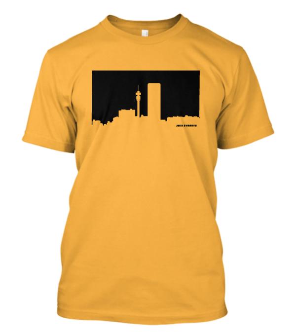 Jozi Streets T-shirt in Yellow-Black
