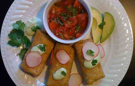 Very Delicious Chicken Flautas