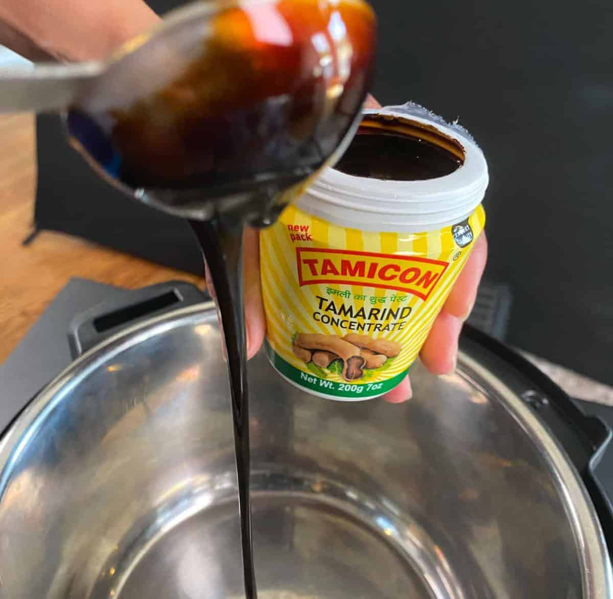 Sinigang Pork with Tamarind Concentrate in Instant Pot