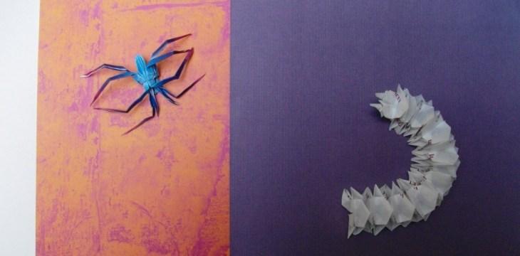 Насекомые оригами