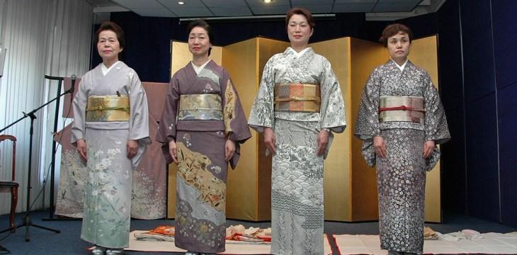 Кимоно мастеров традиционных искусств