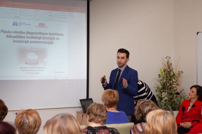 Artjoms Špaks Jelgavas poliklīnikas Akadēmija Plaušu slimību seminārs