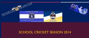 School cricket 2014 SJC & SPC
