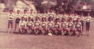 Peterite Rugby Team 1984