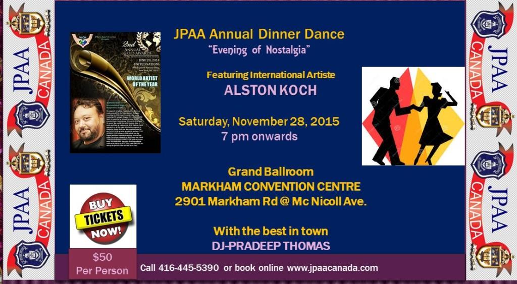 JPAA ANNUAL DINNER DANCE 2015