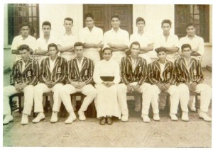jayaweera 5 - 1960, 61 & 62 Tissa Jayaweera played for St Peters College cricket team