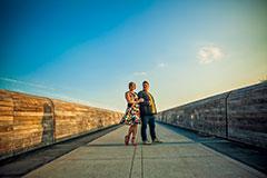 katie+dwayne : mayfield park : austin engagement photographer
