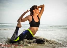 Cheryl Yoga Shoot with Design Theory
