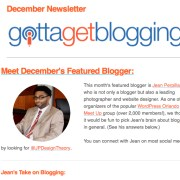 Gotta Get Blogging