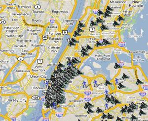 ニューヨーク 治安 地図