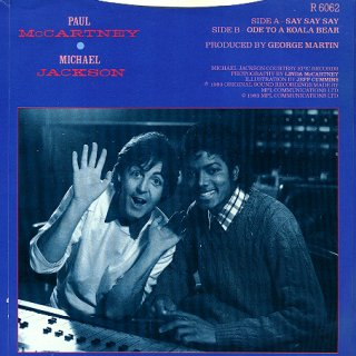 Paul McCartney and Michael Jackson for Say Say Say