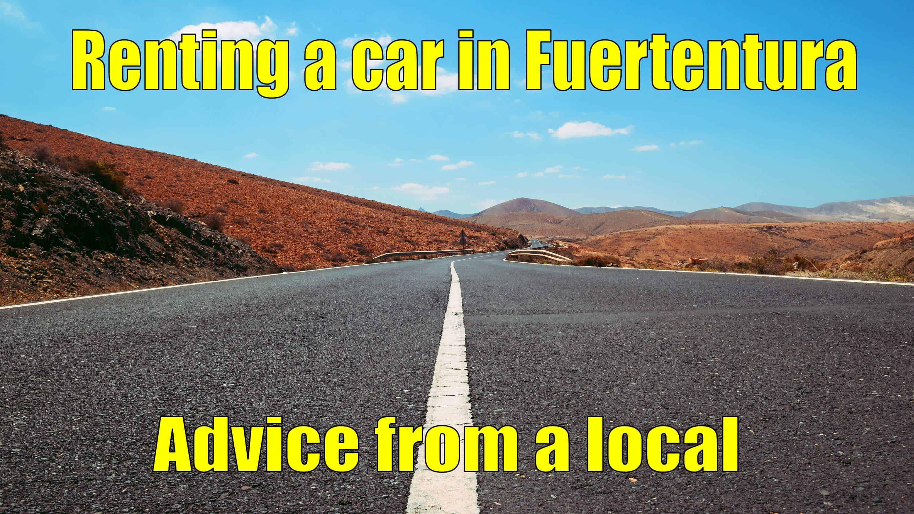 Renting a car in Fuerteventura