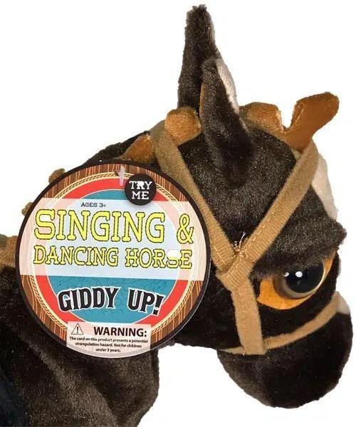 Giddy Up - Singing and Dancing Horse Tag